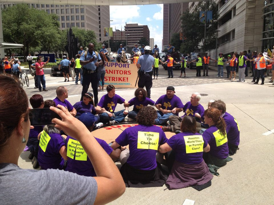 How I Spent My Summer Vacation: Homecare Workers & Janitors